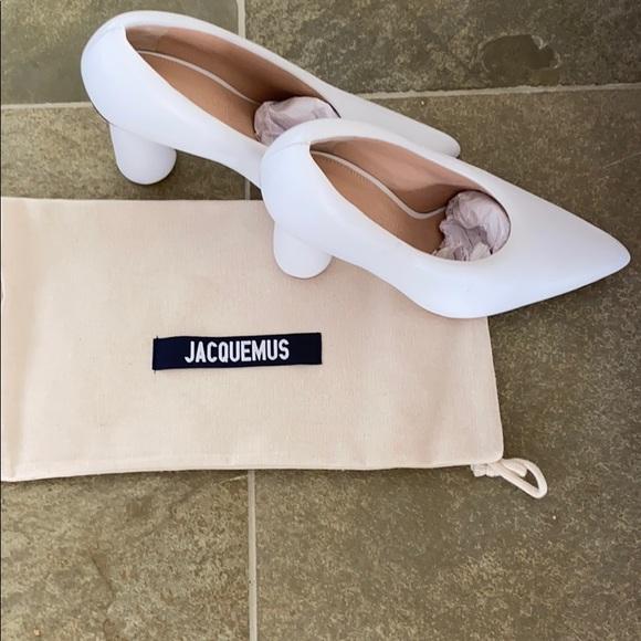 White Jacquemus Heels | Poshmark